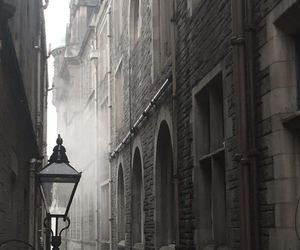 street and fog image