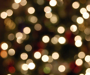 bokeh, christmas, and merry christmas image