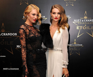 model, candice swanepoel, and dress image