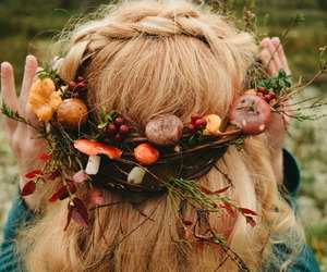 diy, forest, and tiara image