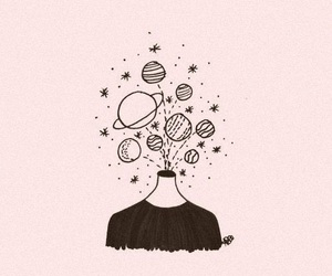 aesthetic, space, and drawings image