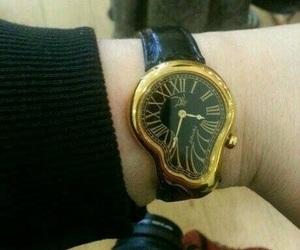 watch, dali, and art image