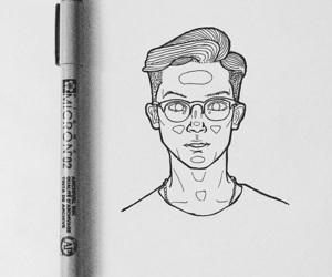 art, brandon, and drawing image