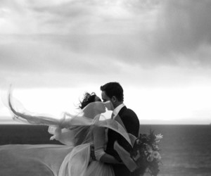 wedding, troian bellisario, and love image