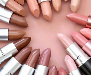 lipstick, Lipsticks, and nudes image