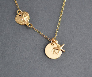 etsy, personalized, and goldnecklace image