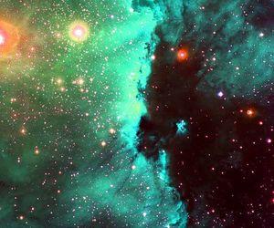 space, universe, and nebula image