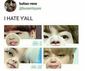 jin, meme, and funny image