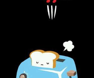 cute and toast image