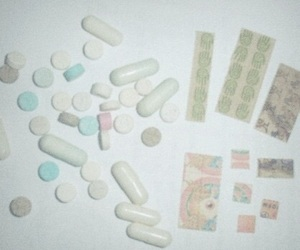 drugs, pills, and grunge image
