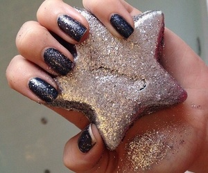 nails, star, and beautiful image