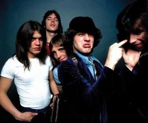 ac dc, ACDC, and rock image