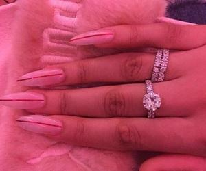 nails, pink, and puma image