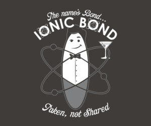 chemistry and ionic bond image