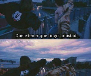 amistad, friends, and frases image