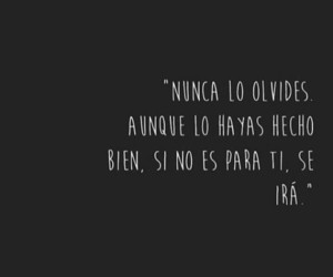 frases, olvido, and relacion image