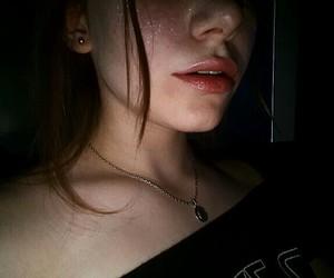 dark, glitter, and aesthetic image