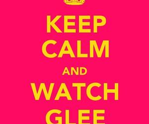 keep calm, glee, and gossip girl image
