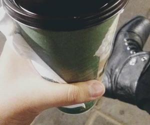 invierno, cafe, and frío image