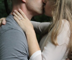 couple, cute, and kiss image
