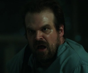 stranger things, jim hopper, and david harbour image