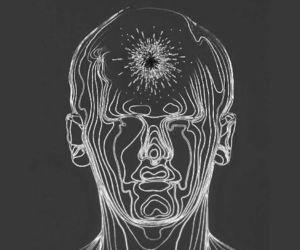 black, chakra, and energy image