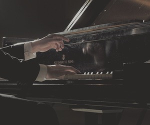 bts, aesthetic, and piano image