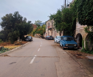 cars, oldstyle, and road image