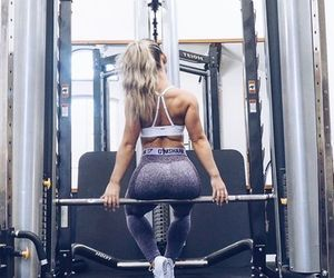 beauty, goals, and gym image