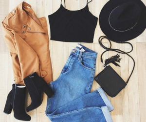 outfit, fashion, and beauty image