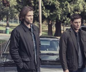 dean, Sam, and spn image