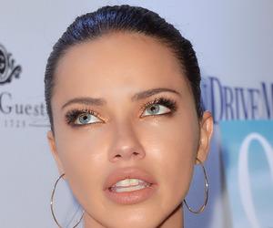 Adriana Lima, model, and makeup image