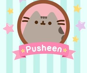 pusheen, cat, and wallpaper image