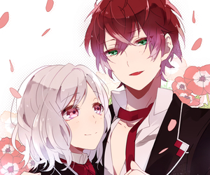 diabolik lovers, yui, and anime image