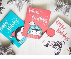gift wrapping, holidays, and christmas cards image