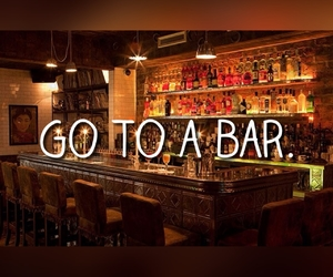 bar, drink, and travel image