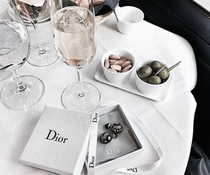 aesthetic, food, and dior image
