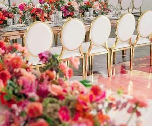 bridal, flower arrangement, and decor image