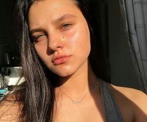 pretty, clear skin, and skin goals image