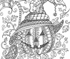 coloring, coloringpages, and Halloween image