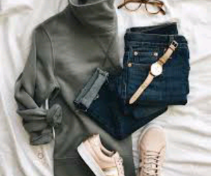 shoes, fashion, and watch image