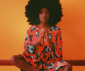 Afro, hair, and beauty image