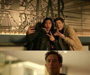 the flash and cisco & barry image