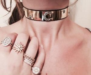 rings, beauty, and choker image