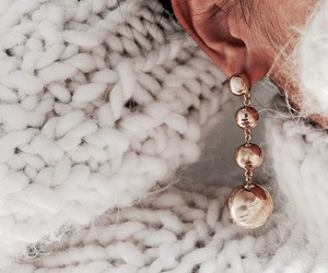 earrings, fashion, and accessories image