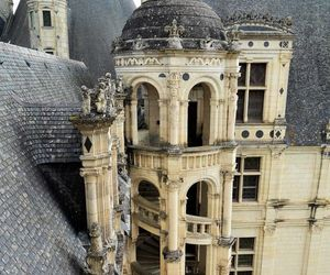 castle, france, and loire image
