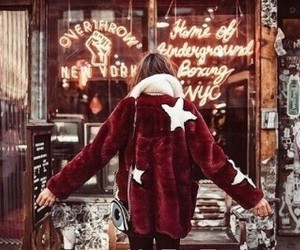 christmas, winter, and red image