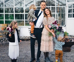 family, flowers, and love image