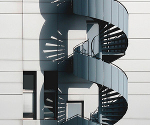 architecture, stairway, and building image