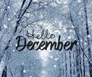 december, quote, and word image